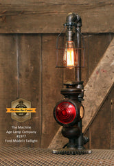 Steampunk Industrial / Antique Ford Model T Taillight / Lamp #1977
