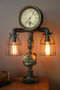 Machine Age Steam Gauge Steampunk Lamp #52 - SOLD
