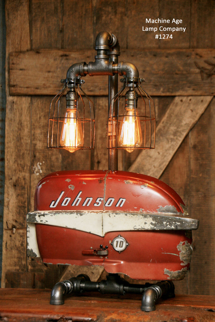 Steampunk Industrial Lamp / Boat / Nautical / Marine / Cabin / #1274 - SOLD