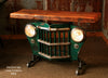 Industrial Antique Jeep CJ Military Willys Grille Table, Console, lamp Stand - #808 - SOLD