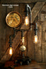 Steampunk Lamp, Industrial Steam Gauge Machine Age Lamp #88 - SOLD