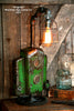 Steampunk Lamp, Machine Age Lamp, John Deere Tractor Dash Farm - #97 - SOLD