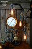 Steampunk Lamp Machine Age Lamp Steam Gauge #90 - SOLD