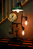 Machine Age Steampunk Steam Gauge Lamp #62 SOLD