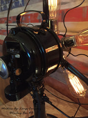 Steampunk Vintage Century Fan Lamp Light , # DC18