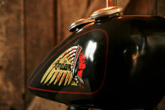 Steampunk Tank Lamp Vintage c1930 Chief Motorcycle  Gas Tank - #735 - SOLD