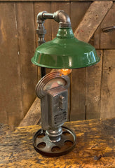 Steampunk Industrial / Duncan Parking Meter / Shade / Automotive / Lamp #3127