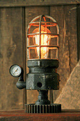Steampunk Industrial Lamp, Lighthouse Explosion Proof Light #653 -sold