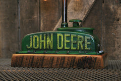 "Steampunk Industrial / Antique John Deere Radiator Top / Model ""B"" / Lamp #1862"