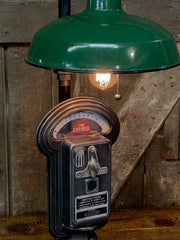 Steampunk Industrial / Parking Meter / Duncan Miller / Shade / Automotive / Lamp #3237