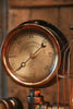 Steampunk Industrial Lamp / Antique Steam Gauge / Philadelphia / Gear / #1246 - SOLD