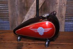 Steampunk Industrial, Original Motorcycle HD Gas Tank Lamp  #2685 sold