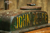 Steampunk Industrial  Lamp, Antique John Deere Farm Tractor B - SOLD