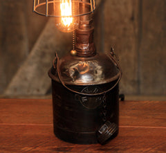 Steampunk Industrial / Antique Railroad Locomotive Train / Western Maryland / Lamp #2603 sold