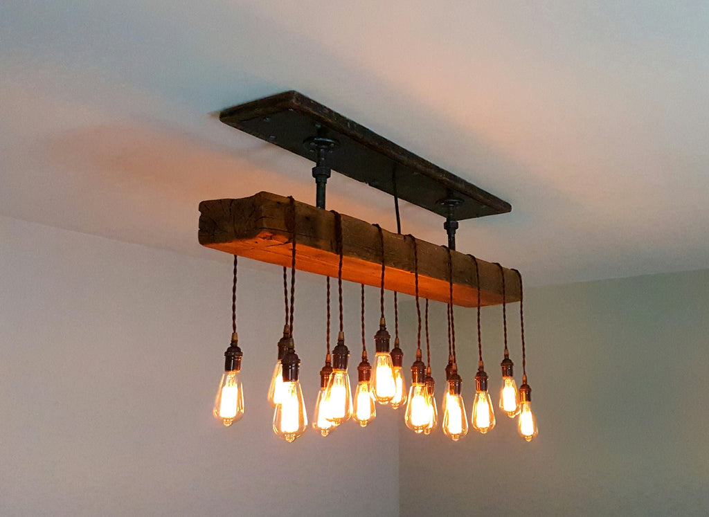 metal gear heavy fixture ceiling ceilings chandelier itm light pendant pipe steampunk edison