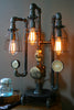 Machine Age Steampunk Steam Gauge Lamp  #56 - SOLD