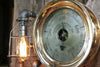 Steampunk Lamp, Steam Gauge and Gear Base #205 - SOLD