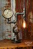 Machine Age Steampunk Steam Gauge Lamp #585