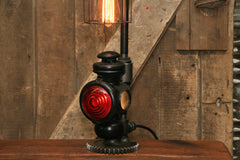 Steampunk Industrial / Antique Ford Model T Taillight / Automotive  / Lamp #2162