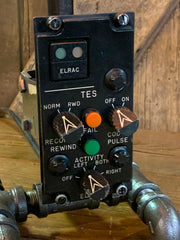 Steampunk  Aviation / Military / Instrument Panel Airplane / F4 Phantom / Cockpit #3222