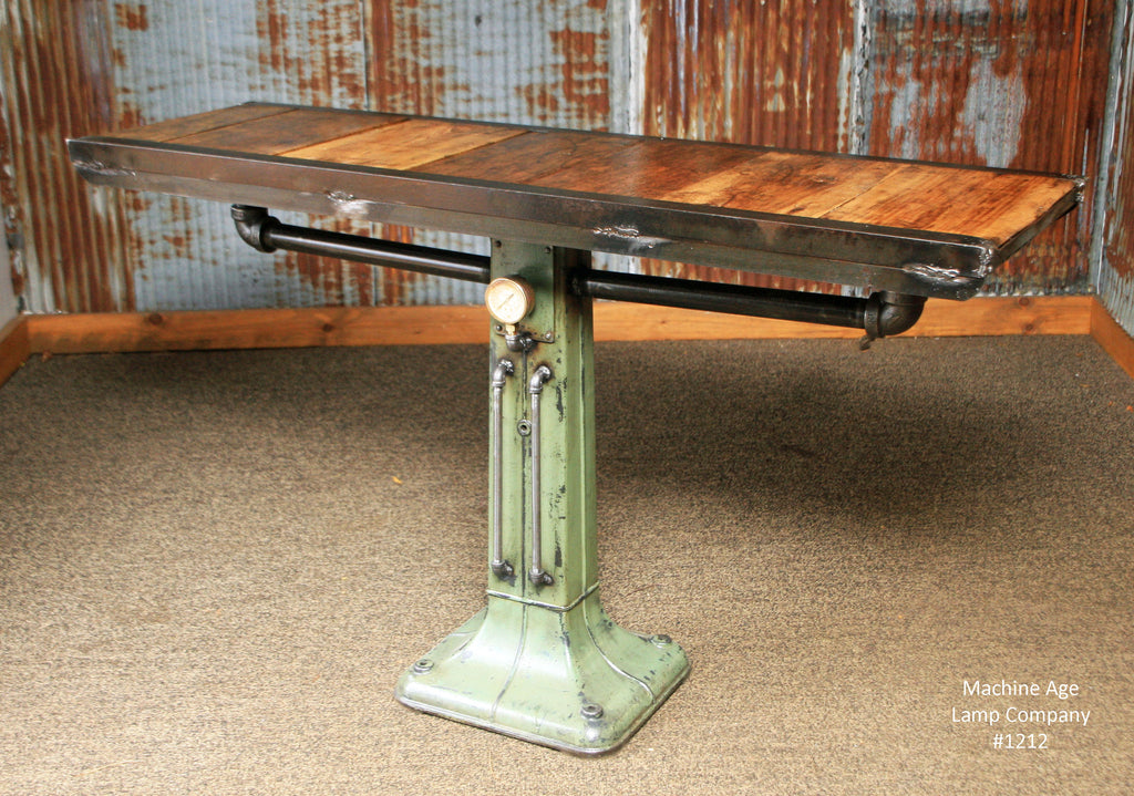 Industrial Table Console Coffee Pub 1212 SOLD