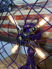 Steampunk Industrial / 1940's Emerson Electric Fan Lamp / Vikings / Lamp #dc23