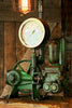 Antique Steampunk Industrial Steam Gauge lamp, Well Pump  #616