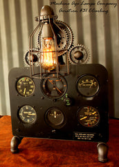 World War II Era Military Aircraft  Instrument Control Panel Lamp CC #31 - SOLD