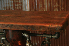 Steampunk Industrial, Table, Stand Vanity, Console #958