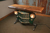 Steampunk Industrial Antique Jeep Willys Grille Table, Console - #1444 - SOLD