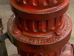 Steampunk Industrial / Fire Hydrant / Floor Lamp / Steam Gauge / Lamp #2572
