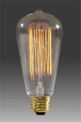 25 Watt Edison Light Bulb
