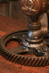 Steampunk Industrial Lamp / Steam Gauge / Saint Louis USA / #1210 - SOLD