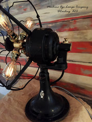 Steampunk Vintage Early 1900's Westinghouse Fan Lamp , # DC20 sold