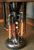 Steampunk Industrial Pipe Steam Gauge Lamp Stand Table - #880