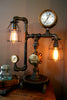 Steampunk Machine Age Lamp Steam Gauge #46 - SOLD