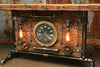Steampunk Industrial Table, Lamp Stand, Console, Barn wood & Steam Gauge - #884 - Sold