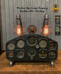 Airplane / Aviation / Fairchild PT-26 Instrument Control Panel Lamp / #cc62 sold