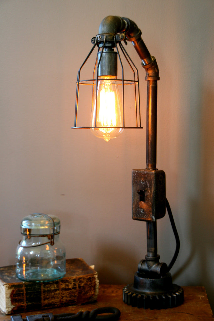 Machine Age lamp Steampunk Lighting #57 - SOLD