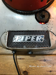 Steampunk / Vintage  Piper Tri-Pacer wall lamp / Sconce / Aviation / Airplane / #dc24 sold