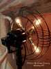 Steampunk Vintage Art Deco GE Floor Fan Lamp Light , # DC19