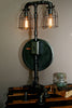 Machine Age Steam Gauge Steampunk Lamp #51 - SOLD