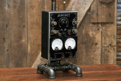 Steampunk Industrial / Electrical Test Meter / Acroset / New York / Lamp #1653 sold