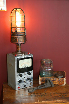 RCA Volt Meter Lamp - SOLD