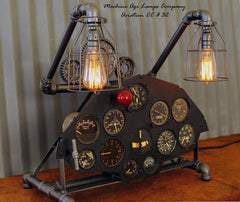 World War II Era Aircraft possibly experimental Instrument Control Panel Lamp CC #32 - SOLD