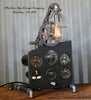 Vintage World War II Era Military Aircraft  Instrument Control Panel Lamp CC #33 - SOLD