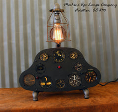 Vintage World War II Era or before Aircraft  Instrument Control Panel Lamp CC #34 - SOLD