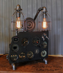 Vintage World War II Military Aircraft  Instrument Control Panel Lamp CC #37 - SOLD