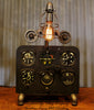 Vintage Industrial Instrument / Airplane / Jet / Aviation / British (RAF) Basic Six Instrument Panel Lamp  #CC45 sold