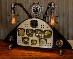 Aviation Antique Stearman Boeing PT-13 / N2S-5 / Instrument Control Panel Display Lamp #cc47 sold